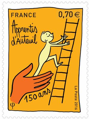stamp 150 years, marie tremoulet, winner, Paris Match
