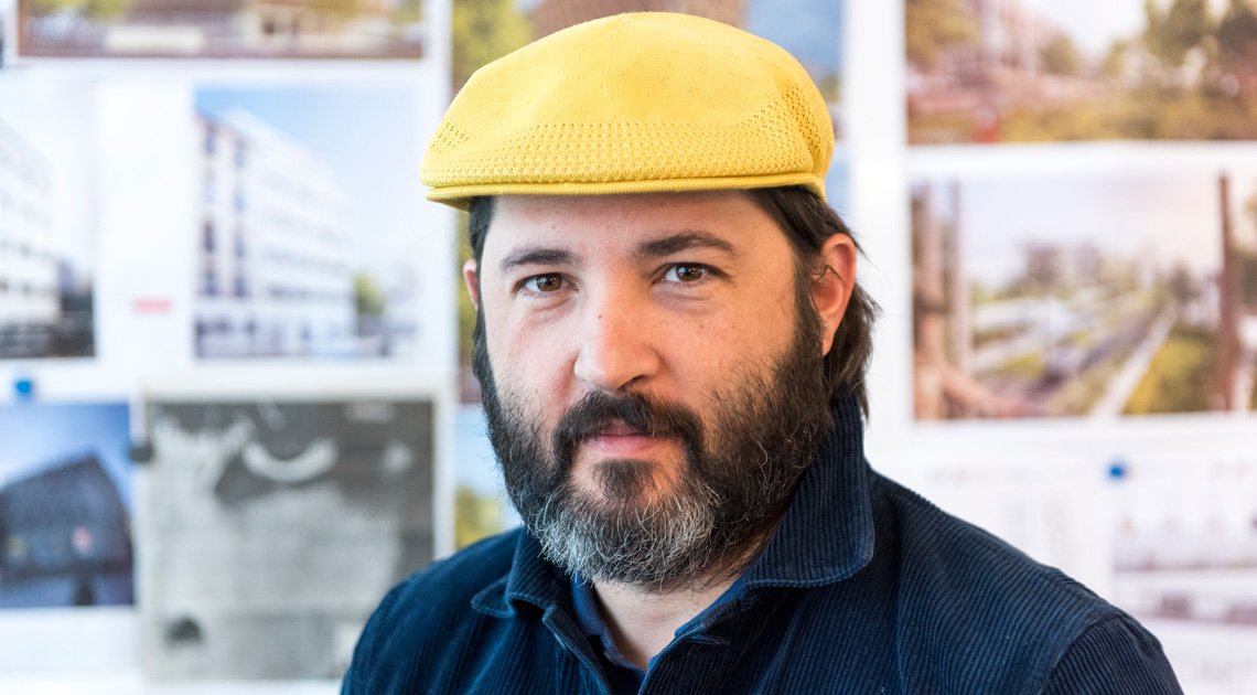 Mathias Romvos, un ancien d'Apprentis d'Auteuil devenu architecte