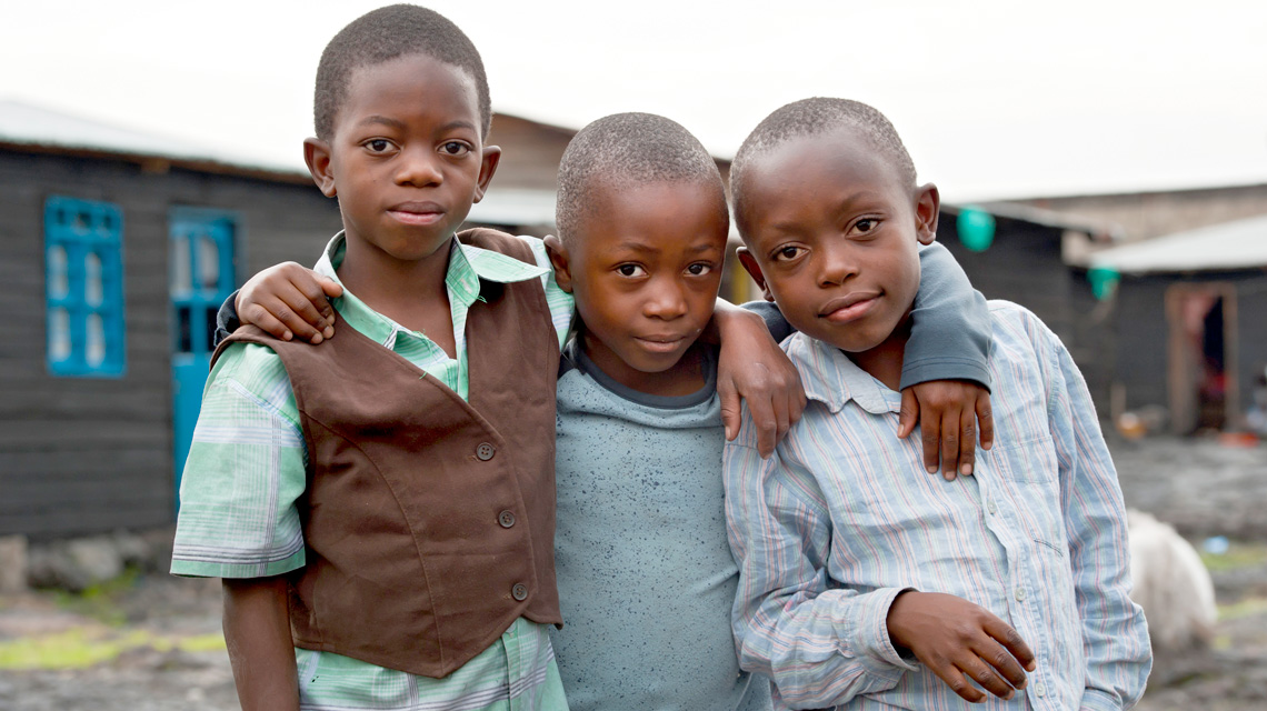 Promoting children's rights in the Congo